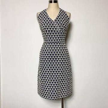 Mini Triangles Halter Dress