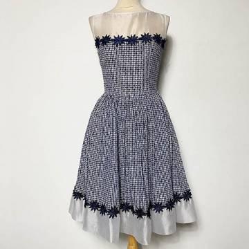 Melissa Gingham Dress