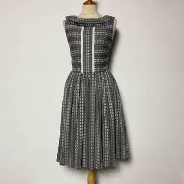 Mabelle Grey Dress