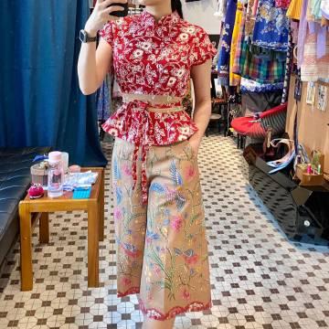 Batik Culottes and Top Set